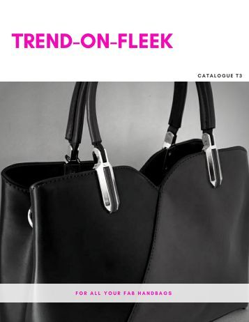 Trend-On-Fleek Handbag Catalogue T3