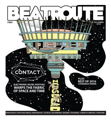 BeatRoute Magazine B.C. print e-edition - December 2016