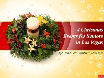 4 Christmas Events for Seniors in Las Vegas