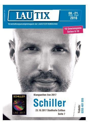 Lautix - Das Veranstaltungsanzeigenmagazin der LAUSITZER RUNDSCHAU