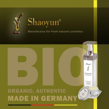The Best Organic, Fresh, Handmade German Beauty Product.