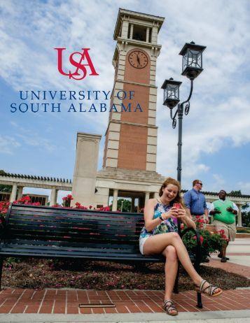 University of South Alabama Viewbook