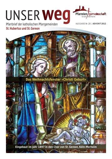 Pfarrbrief der katholischen Pfarrgemeinden St. Hubertus und St ...