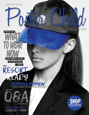 Poster Child Magazine - Winter 2016