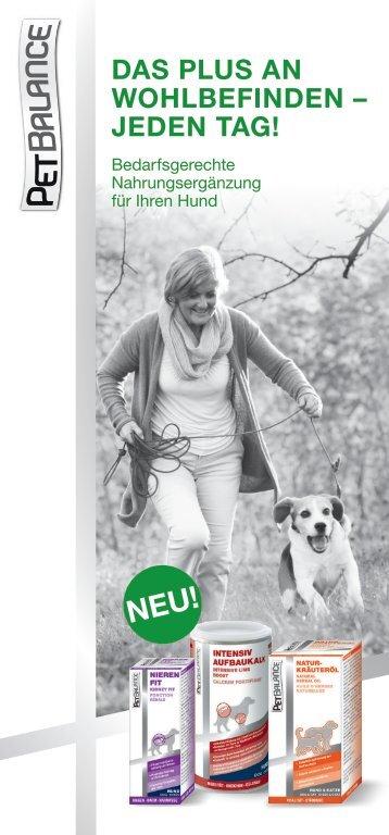 Pet Balance für Hunde