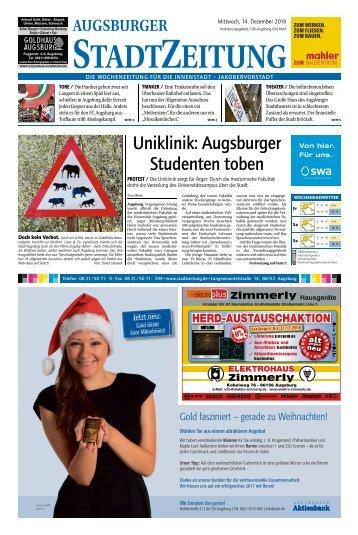 105 Augsburg - City 14.12.2016