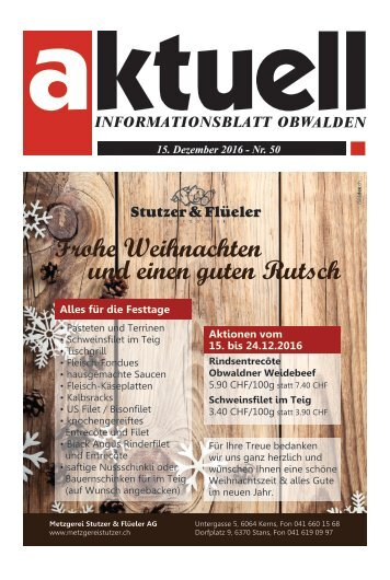 Aktuell Obwalden 50-2016