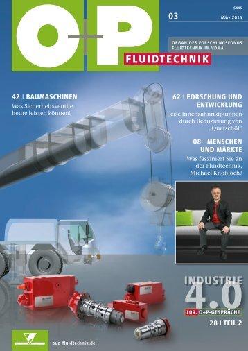 O+P Fluidtechnik 3/2016
