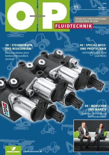 O+P Fluidtechnik 5/2016