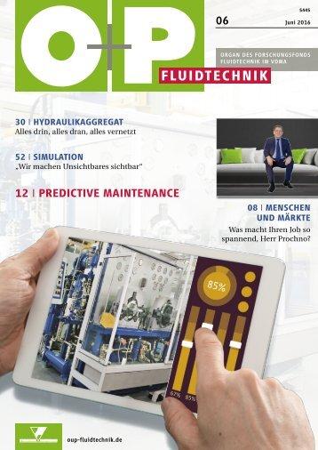 O+P Fluidtechnik 6/2016