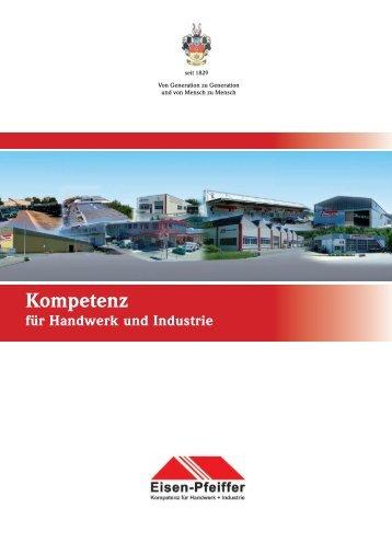 Imagebroschüre der Carl Pfeiffer GmbH & Co. KG aus dem Jahr 2008