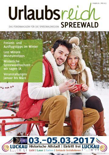Urlaubsreich Spreewald - Januar bis März 2017