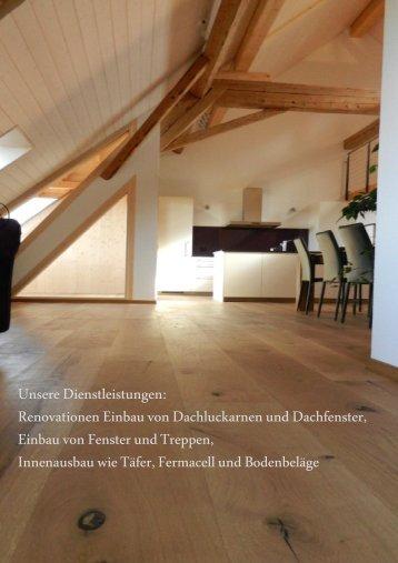 Egli & Reusser GmbH | Dienstleistungen