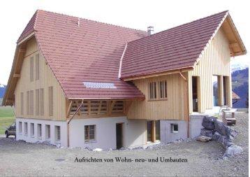 Egli & Reusser GmbH | Neu- und Umbauten