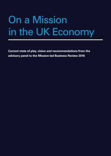 On a Mission in the UK Economy