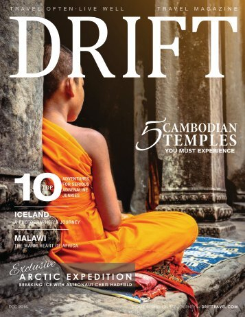 DRIFT Travel Dec 2016