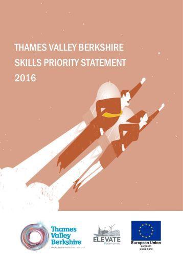 THAMES VALLEY BERKSHIRE SKILLS PRIORITY STATEMENT 2016