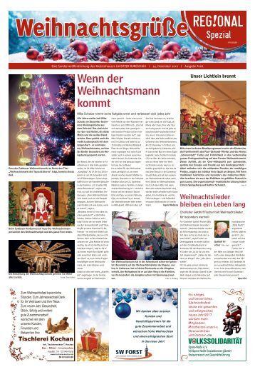 Weihnachtsgrüße Forst