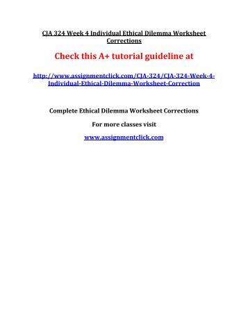 ethical issue prosecutors ethical dilemma worksheet cja 324