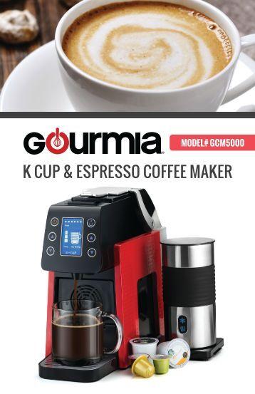 Gourmia GCM5100 Coffee & Espresso Maker -