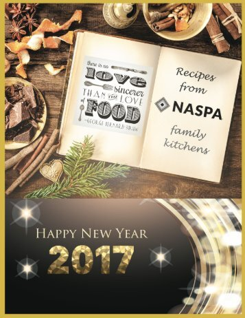 NASPA New Year 2017 Cookbook