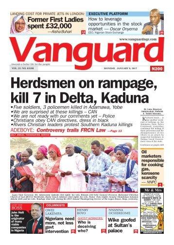 09012017 - Herdsmen on rampage, kill 7 in Delta, Kaduna