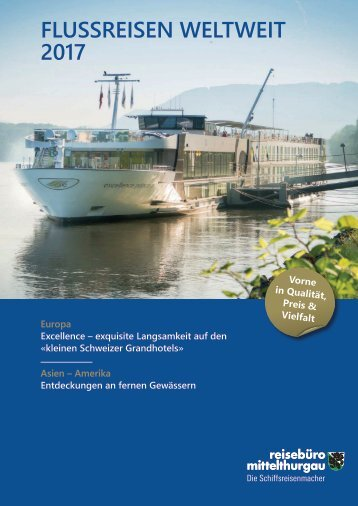 Flussreisen Weltweit 2017