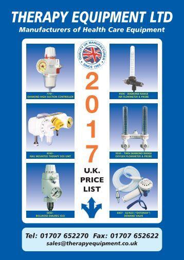 Price List 2017(UK)