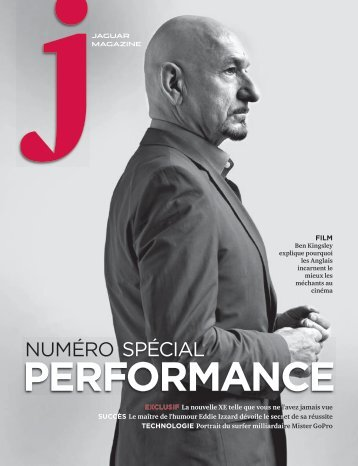 Jaguar Magazine PERFORMANCE – Belgian French
