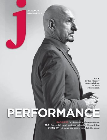 Jaguar Magazine PERFORMANCE – Belgian Dutch