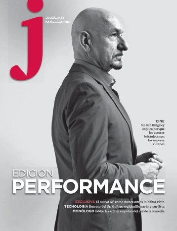 Jaguar Magazine PERFORMANCE – Spanish