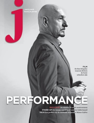 Jaguar Magazine PERFORMANCE – Dutch