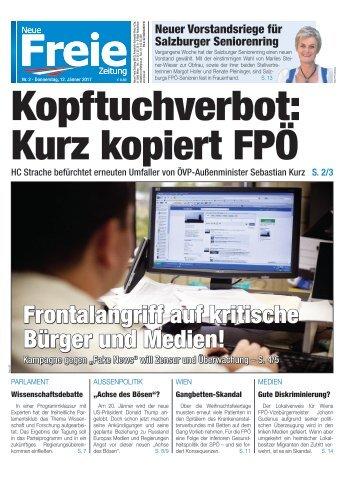 Kopftuchverbot: Kurz kopiert FPÖ