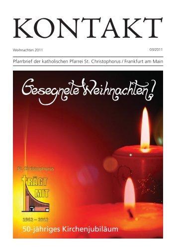 Ausgabe Weihnachten 2011 - Katholische Pfarrgemeinde St ...