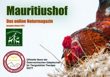 Mauritiushof Natur Magazin Jänner 2017