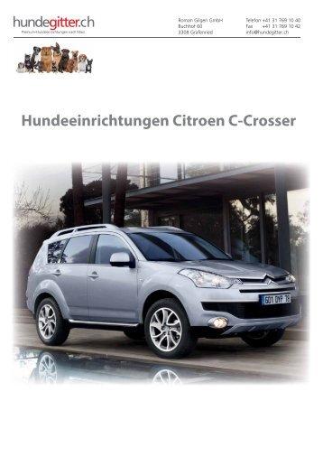 Citroen_C-Crosser_Hundeeinrichtungen