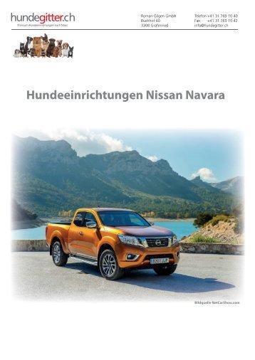 Nissan_Navara_Hundeeinrichtungen