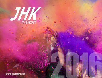 Рекламен каталог JHK 2016 (текстил/мода)