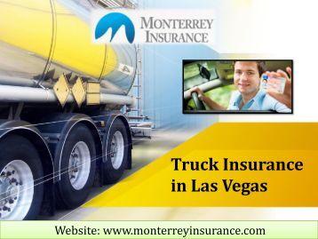 Truck Insurance in Las Vegas