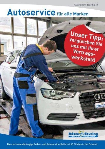 Autoservice für alle Marken / Adam Touring