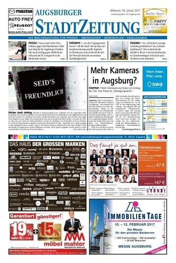 102 Augsburg - West 18.01.2017