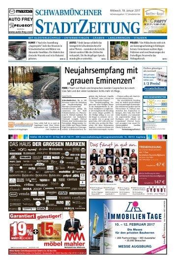 112 Schwabmünchen  18.01.2017