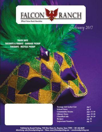 Falcon Ranch February 2017
