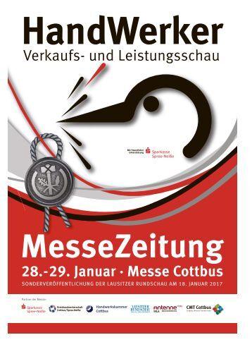 Handwerkermesse vom 28. bis 29. Januar 2017 in Cottbus