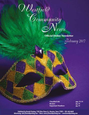 Westfield Community February 2017