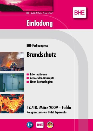 Einladung - Fire Protection Solutions