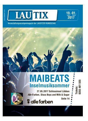 Lautix - Veranstaltungsmagazin der LAUSITZER RUNDSCHAU, vom 19.01. bis 01.02.2017