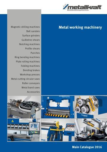 EN metal working machinery