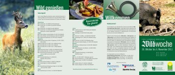 Wildwoche - Verbund Oldenburger Münsterland