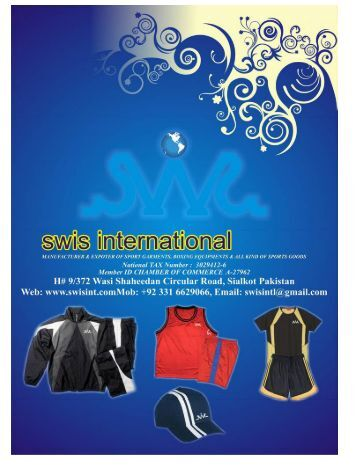 SWIS CATALOGUE